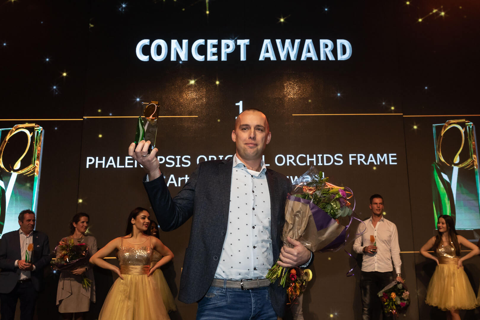 Dutch Tulip Awards Artisan wint met Original Orchids Frame